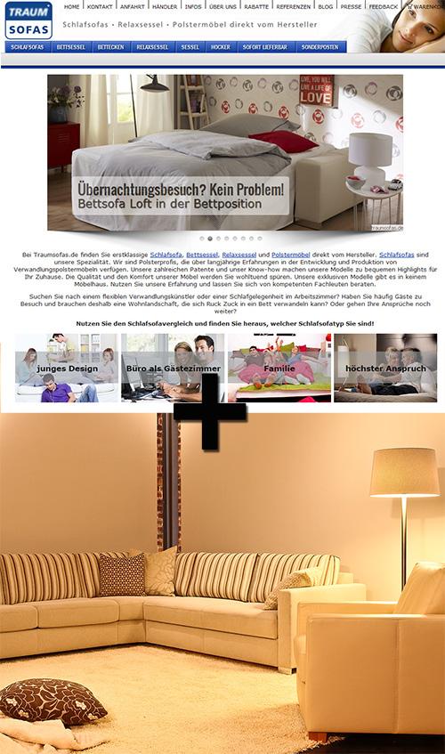 unser erfolgsrezept showroom und internet traumsofas blog kreative raumkonzepte wohnideen. Black Bedroom Furniture Sets. Home Design Ideas