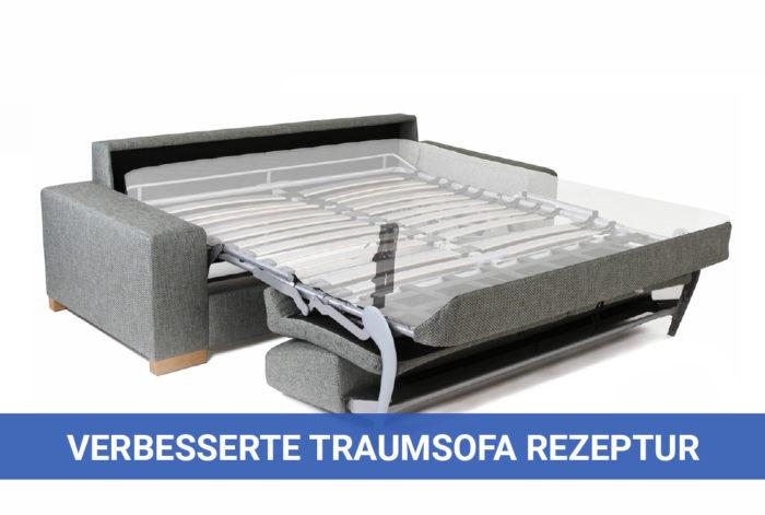 Neue Traumsofa Rezeptur