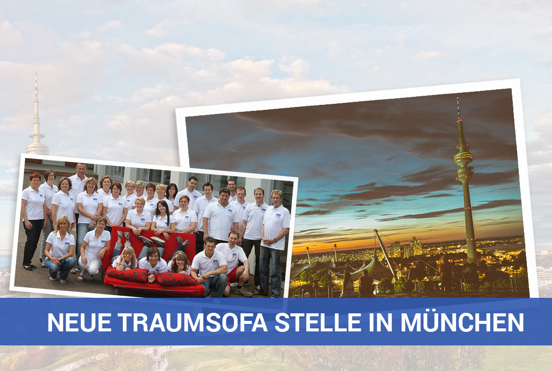 Traumsofas neue Stelle in München
