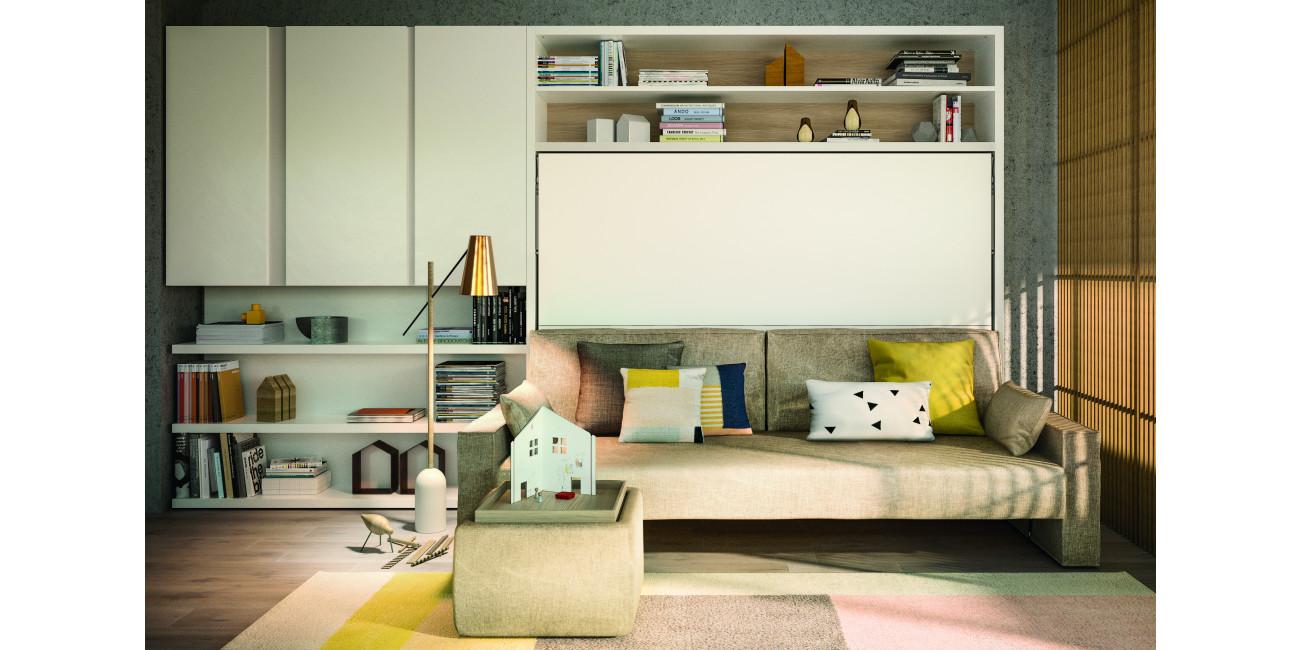 Clei Schrankbetten Circe mit Sofa