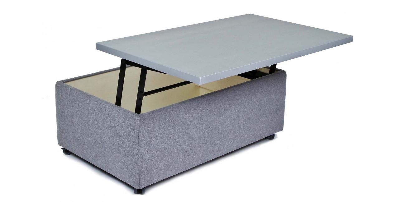 Hocker Tisch mit kleinen Rollen