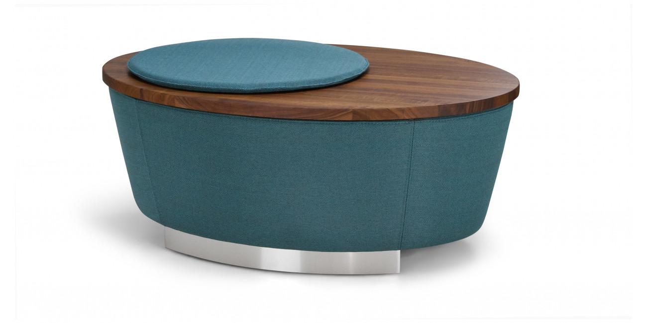 Hocker Tisch Oval