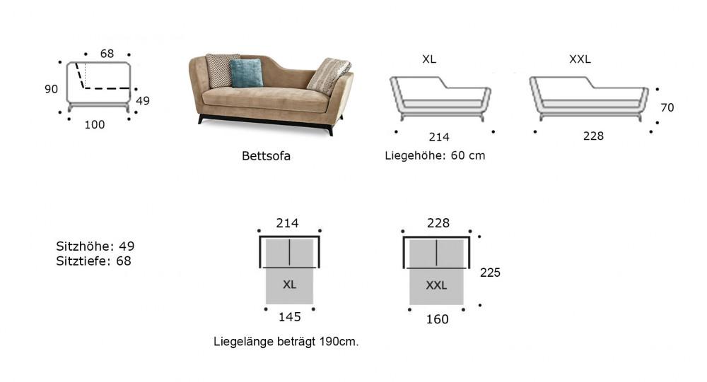 jeremie online kaufen direkt beim hersteller traumsofas. Black Bedroom Furniture Sets. Home Design Ideas