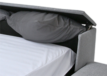 Bed Box offen