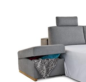 Seiten Bed Box Offen