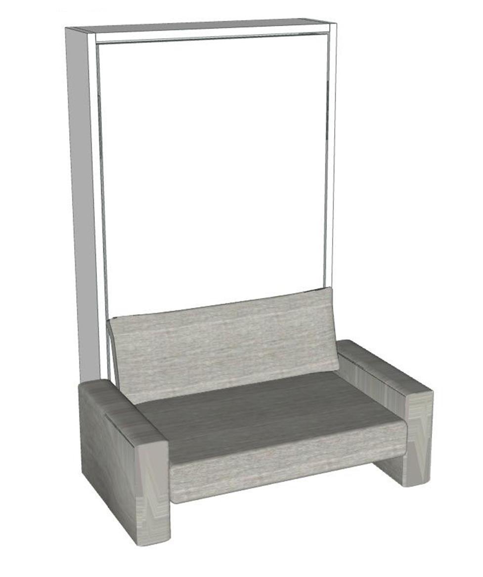 schrankbett altea 120 direkt beim hersteller kaufen. Black Bedroom Furniture Sets. Home Design Ideas