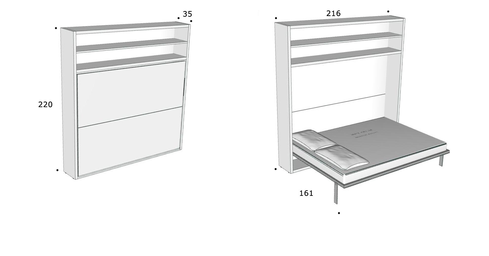 schrankbett circe direkt beim hersteller kaufen. Black Bedroom Furniture Sets. Home Design Ideas