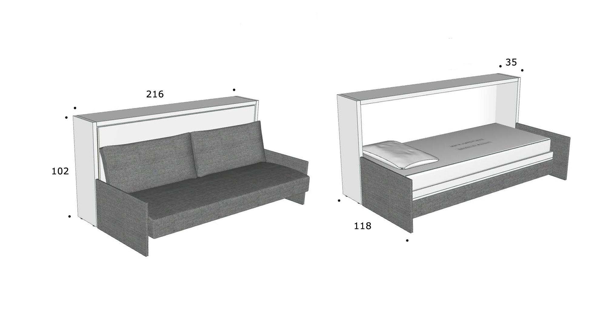 schrankbett kali 90 direkt beim hersteller kaufen. Black Bedroom Furniture Sets. Home Design Ideas