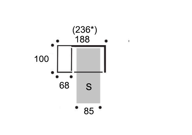 Abmessungen Seiten Bed Box