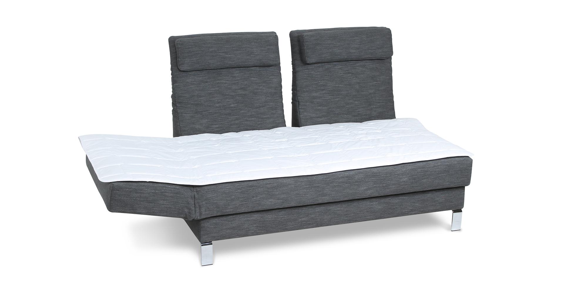 Bettposition mit Zwei-Zonen-Lattenrost