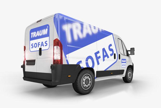 Traumsofas - Ablauf der Bestellung